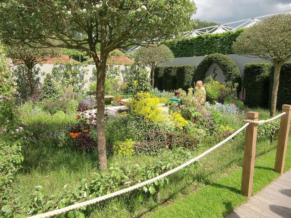 The St John's Hospice Garden